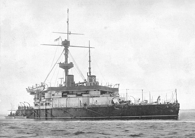 HMS Trafalgar 1897