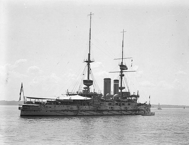 hms implacable at spithead 1909