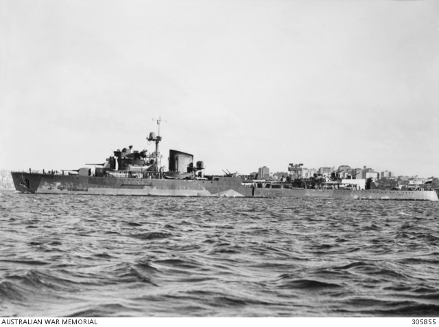 A badly damaged Tromp, in Australia for repairs
