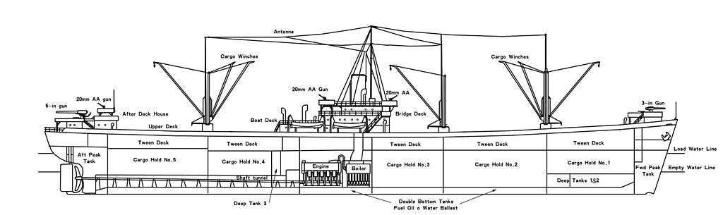 C2 liberty ship