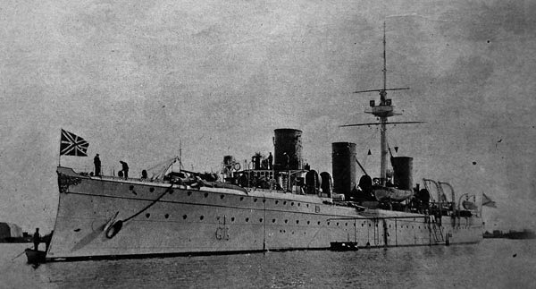 Novik as built in 1902