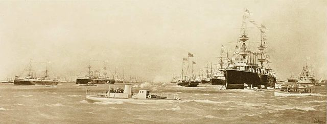 Spithead naval review of 1897