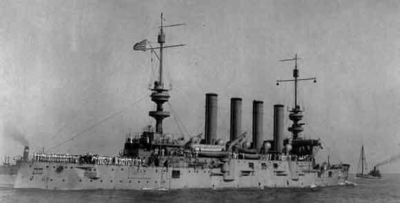USS Saint Louis, circa 1910