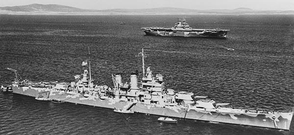 USS Wichita in Scapa Flow, April 1942