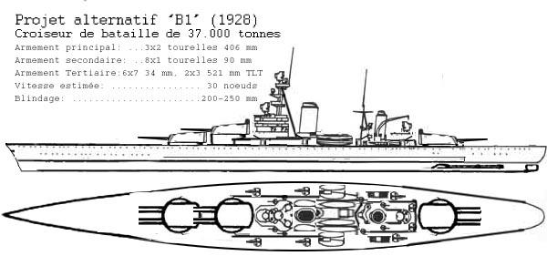 B1 design battlecruiser