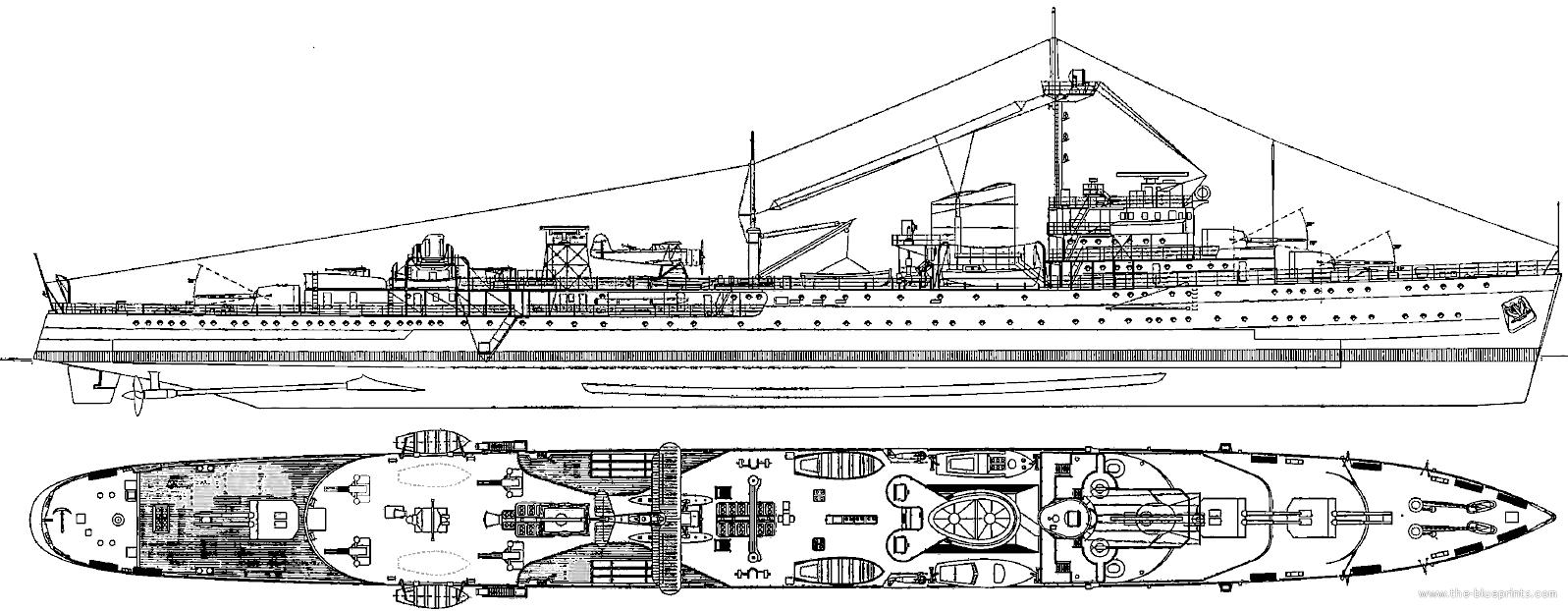 Tromp 1938 general appearance HD