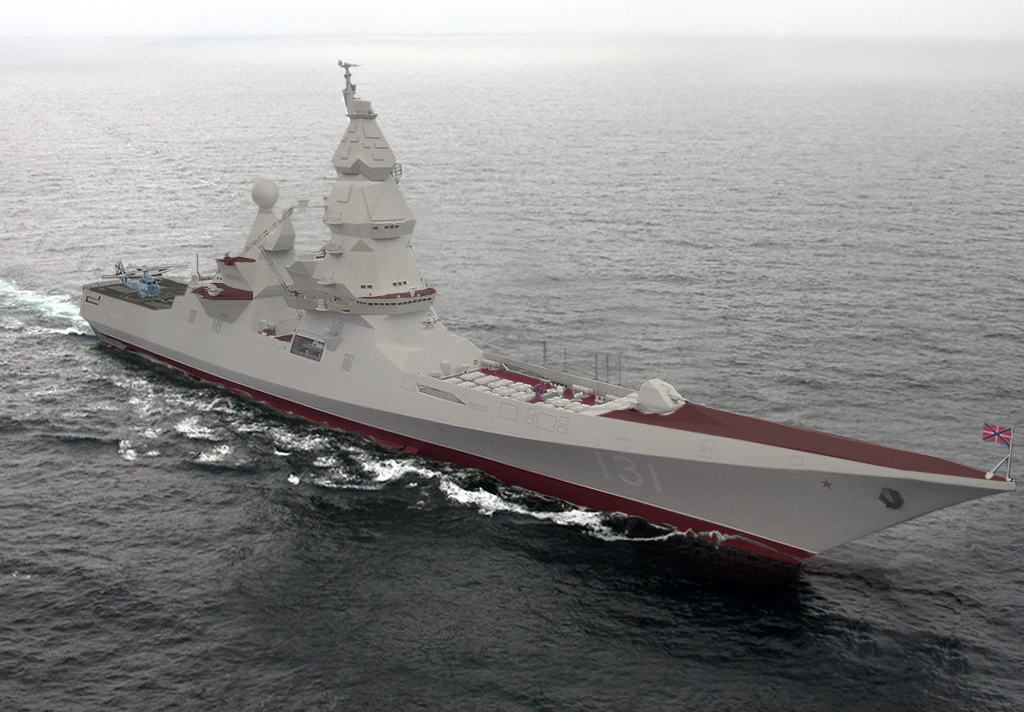 montage of a lider at sea