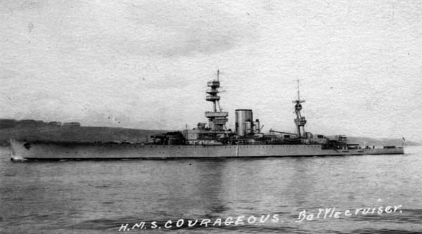 HMS Courageous - Credits courageous assoc.