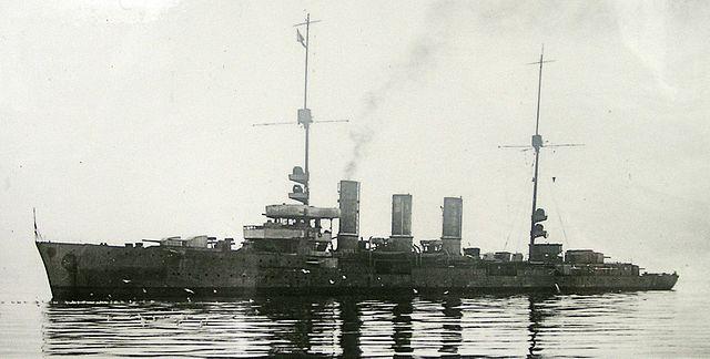SMS Dresden (ii) in 1919