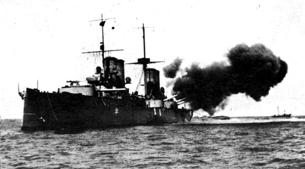San Giorgio firing during the Italo-Turkish war