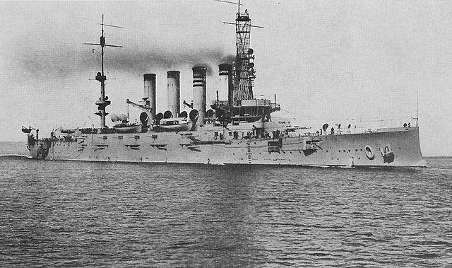 USS Montana in 1915