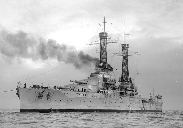 USS Nevada in 1925