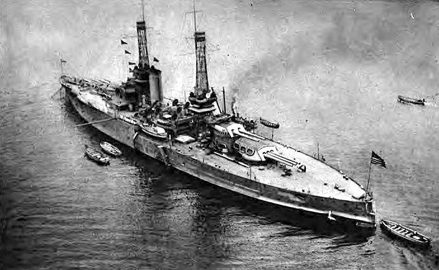 USS Nevada WW1