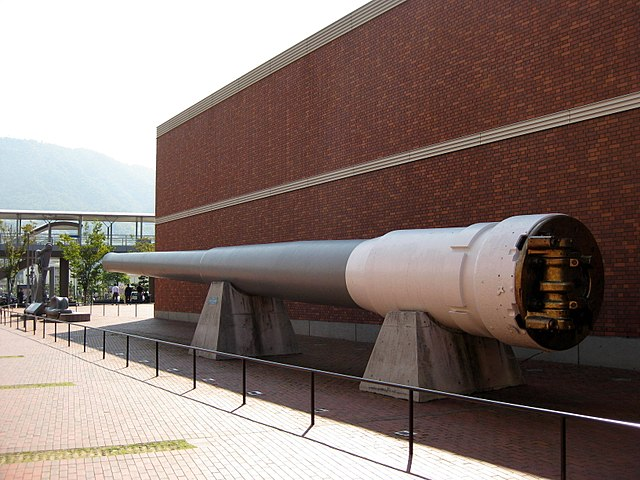 Mutsu's preserved 41cm/45