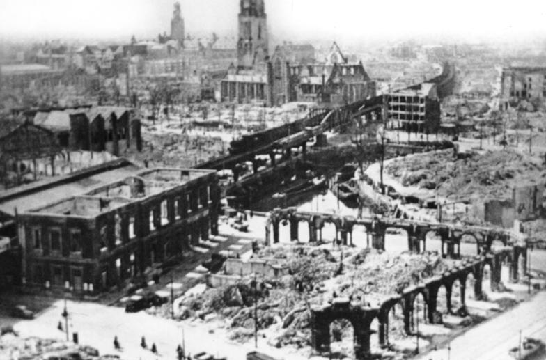 rotterdam destroyed