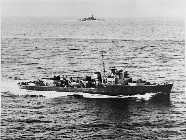 HMS Exmoor, a Type II hunt class