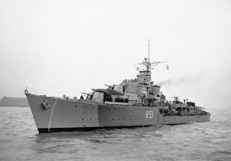 HMS Undaunted 1944