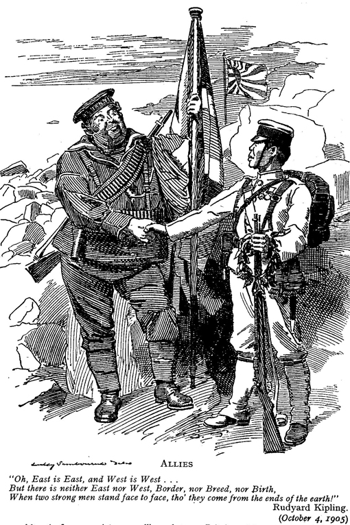 Punch caricature of the treaty