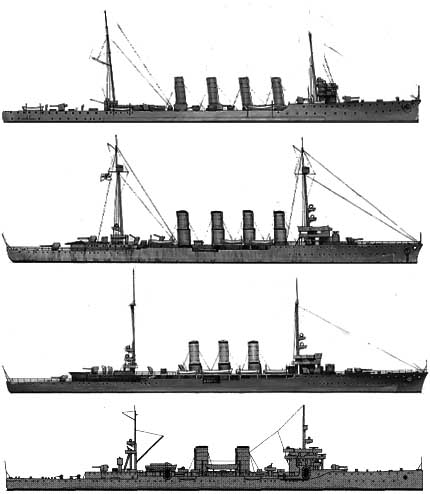 italian prize cruisers