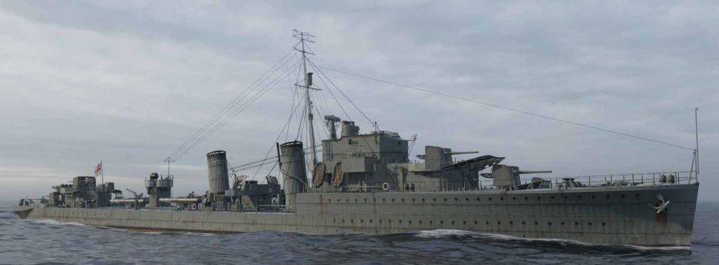 rendition of HMS Icarus