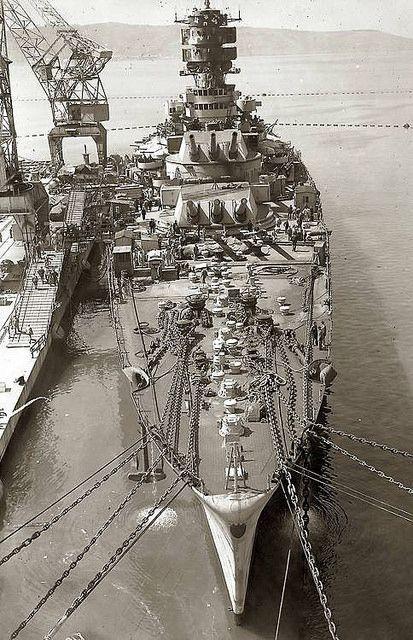 Battleship_Roma_sunk_Sept_9_1943