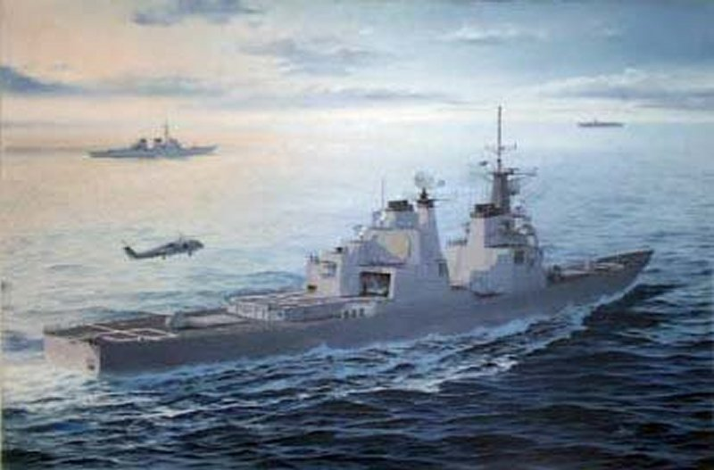 CGBL Guided Missile Cruiser Baseline 1980