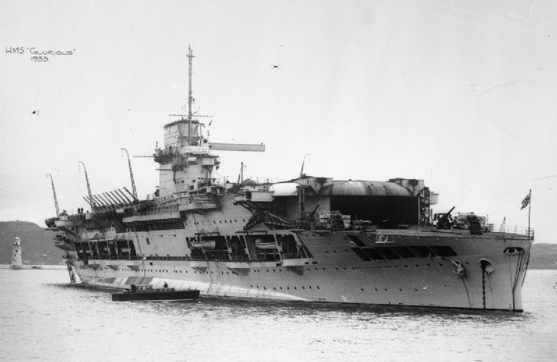 HMS Glorious 1935