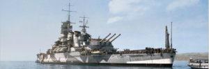 Littorio class battleships