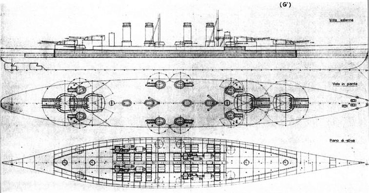 Progetto G class battleships