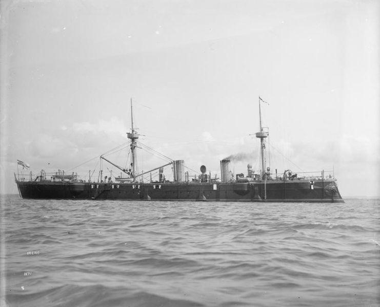 SMS Irene in 1890 - IWM