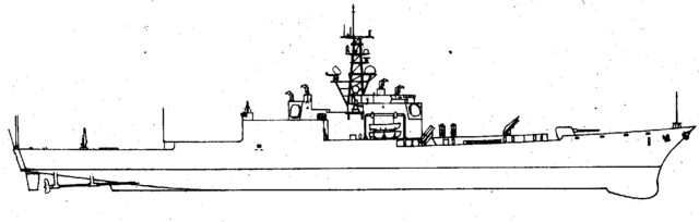 Profile of the 17,000 tonnes design