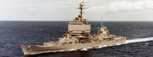 Cold War USN Missile Cruisers