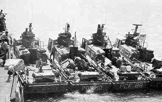 A fleet of Swift Boats