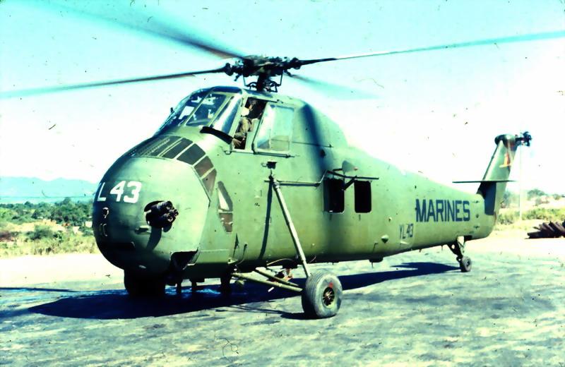 UH-34D Seahorse of Marine Medium Helicopter Squadron HMM-362