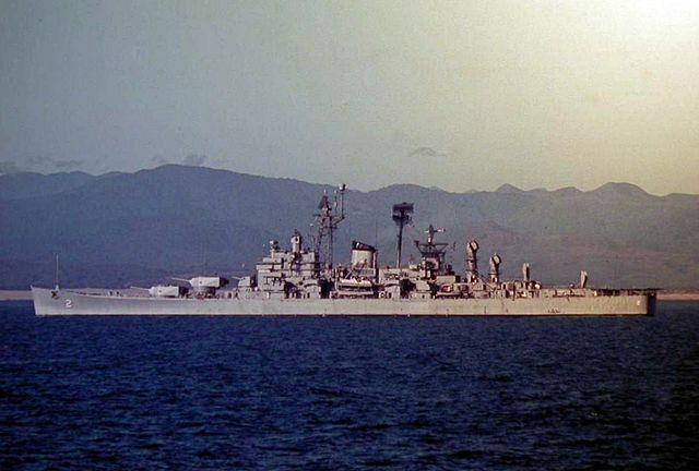 USS Camberra CAG-2, south vietnam 1966
