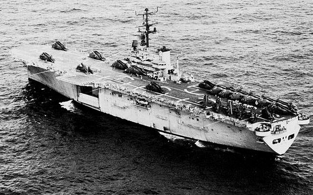 uss iwo jima 1966