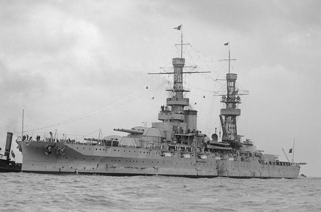 USS Pennsylvania in Australia in 1925