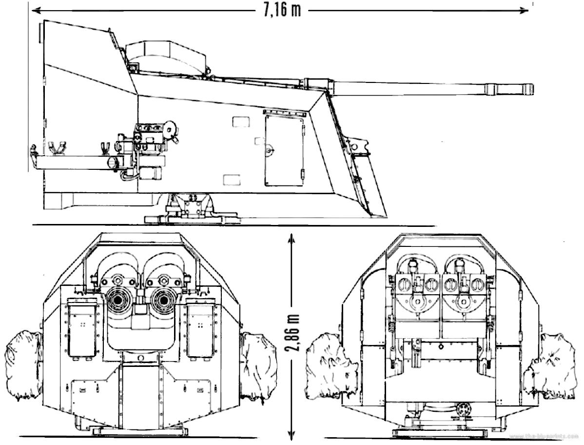 FLAK 105 mm