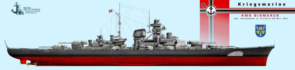 Bismarck in the Atlantic, 26 May 1941