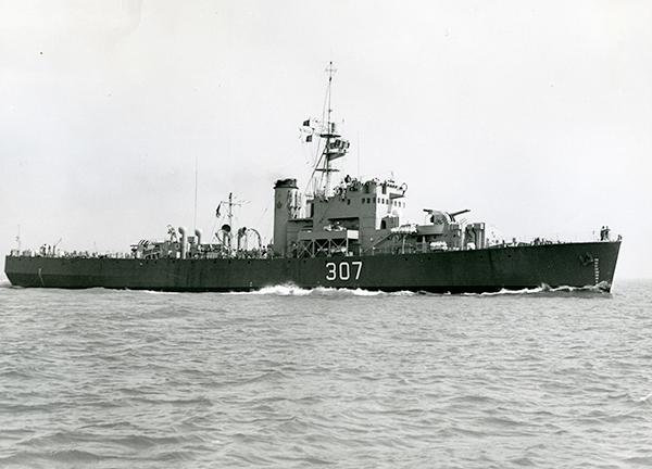 HCMS Prestonian in 1954