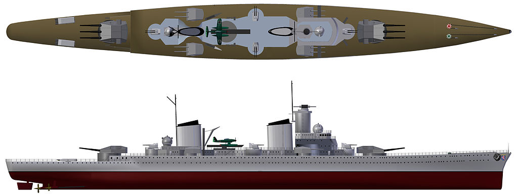 KMS Hessen if completed in 1936
