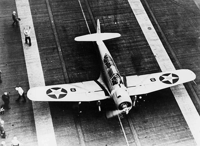 SB2U-1 of VB-3, CV-3, 1938