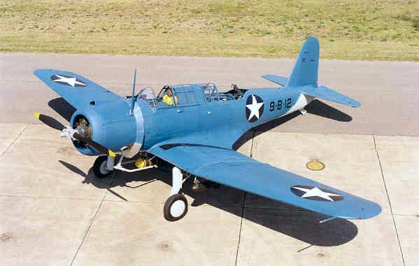 SB2U-2 VB-9 preserved at the NMNA