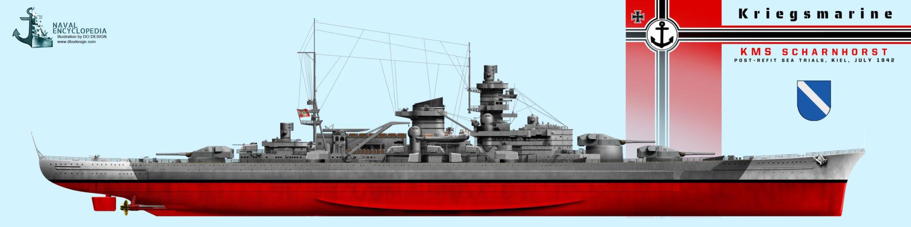 Scharnhorst July 1942