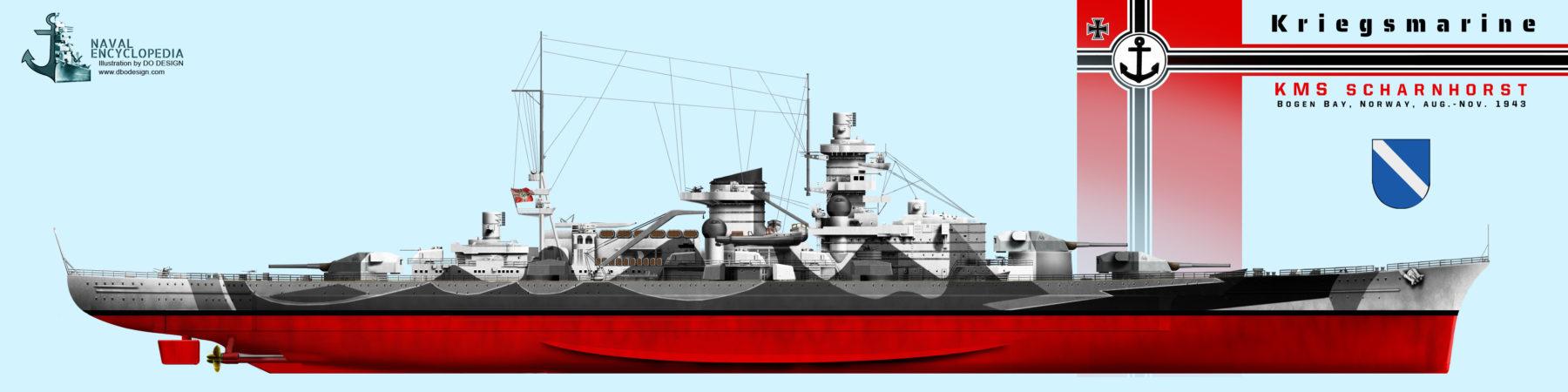 scharnhorst bogen 1943