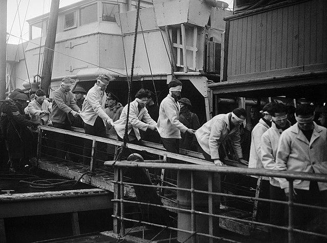 Scharnhorst rare survivors transferred to Scapa Flow