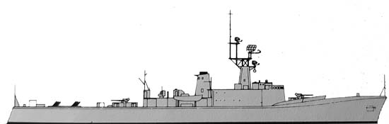 St Laurent class DDE