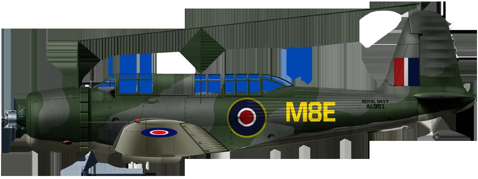 British fleet air arm V-156B-1 771