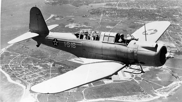 SB2U-3 of VS-1-1 S-16