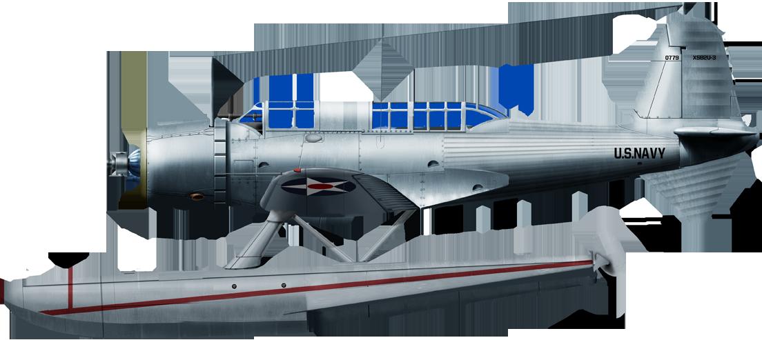 The only floatplane version, alternative prototype of the SB2U-3 in 1938. Colors are prospective